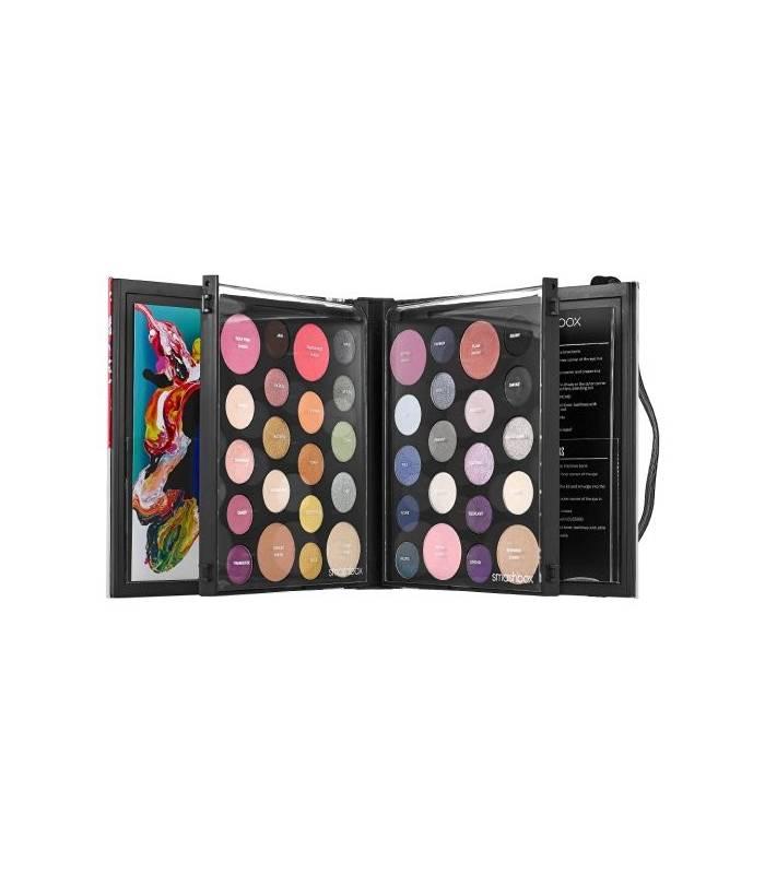 پالت رنک سایه چشم اسمش باکس Smashbox Art Love Color Master Class Eyeshadow Palette Limited Edition 2015 |