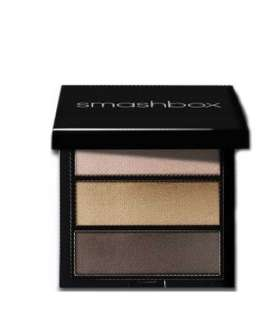 پالت رنگ اسمش باکس Smashbox Photo Op Eye Shadow Trio In Vapor Moss and Antique Gold
