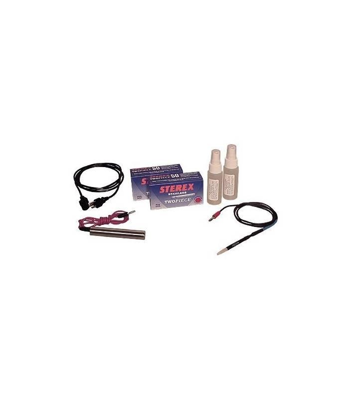 لیزر موهای زائد بدن آوانس electrolyse automatique standard 22kuv permanent hair removal electrolysis machine