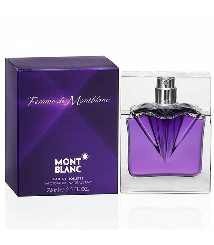 عطر زنانه مون بلان فم Mont Blanc Femme EDP for Women