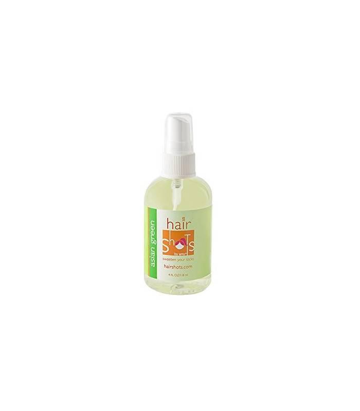 عطر موی سر هیر شاتس Hair Shots Asian Green Perfume Quality Heat Activated