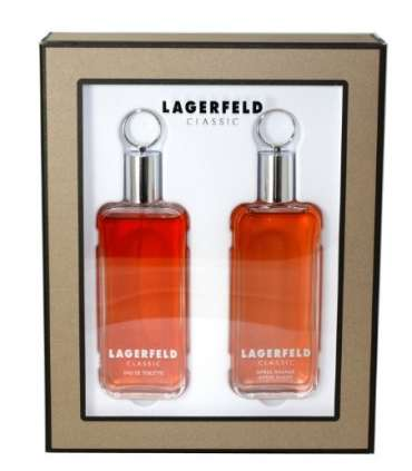 ست عطر مردانه کارل لاگرفیلد Lagerfeld by Karl Lagerfeld for Men Gift Set 2 Piece
