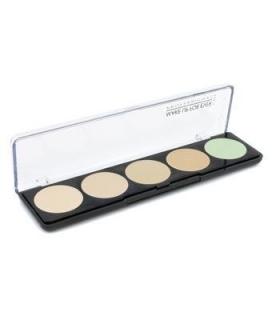 پالت رنگ میکاپ فور اور کرمی make up for ever 5 camouflage cream palette no. 1