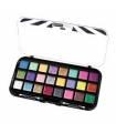 پالت رنگ بیوتی تریت 24 رنگ سایه BEAUTY TREATS 24 Sparkle Palette - Cream Based Glitter Eye Shadow