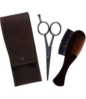 قیچی و شانه سبیل Dovo Beard and Moustache Scissor Set - Comb/Brush Custom