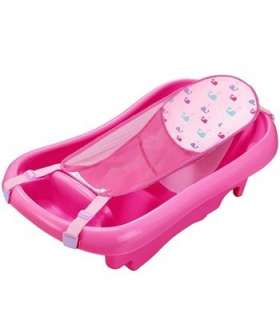 وان فرست یرز صورتی مدل توری دار The First Years Nets Guard Bath Tub