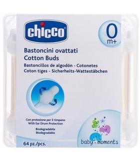 گوش پاک کن چیکو بسته 64 عددی Chicco Cotton Swab 64pcs
