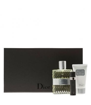 ست عطر مردانه کریستین دیور Christian Dior Eau Sauvage Men 3 Piece Limited Edition Set
