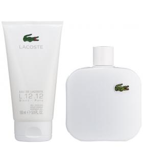 ست عطر مردانه لاکوست Lacoste L.12.12 Blanc Eau de Toilette Spray