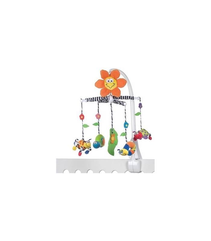 آویز تخت پلی گرو مدل باغچه شگفت انگیز Playgro Amazing Garden Crib Toys |