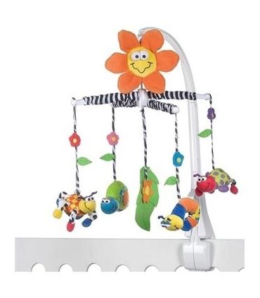 آویز تخت پلی گرو مدل باغچه شگفت انگیز Playgro Amazing Garden Crib Toys