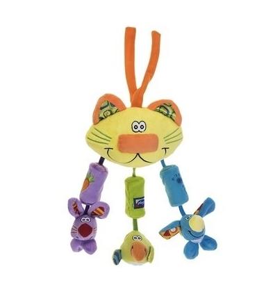 آویز پلی گرو مدل گربه Playgro Cat Doll Pendant