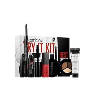ست کامل گریم اسمش باکس Smashbox Cosmetics Best Sellers Makeup with Try It Kit Full Exposure Mascara by Smashbox