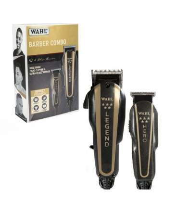 ماشین اصلاح سر و صورت وال مدل Wahl Professional 5-Star Barber Combo 8180