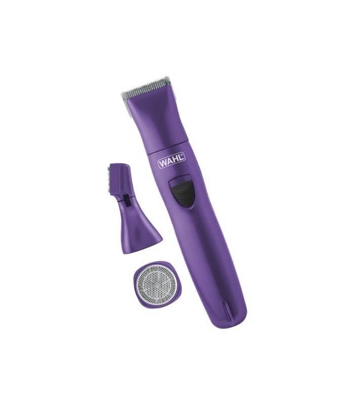 ماشین اصلاح بدن وال زنانه مدل Wahl Pure Confidence Purple Rechargeable Trimmer 9865-100