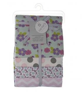 خشک کن کارترز مدل گل و طوطی Carters Flower and Parrot Drying Towel