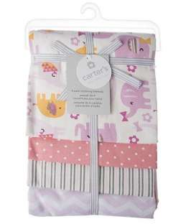 خشک کن کارترز مدل فیل صورتی Carters Pink Elephant Drying Towel