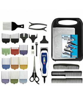کیت ماشین اصلاح وال مدل Wahl 9155 100 White Haircut Kit 15Pc Color Coded Pro Blades