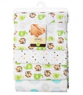 خشک کن کارترز مدل میمون و فیل Carters Monkey and Elephant Drying Towel
