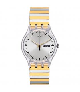 ساعت مچی عقربه ای زنانه و مردانه سواچ Swatch SUOK708A