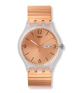 ساعت مچی عقربه ای زنانه و مردانه سواچ Swatch SUOK707A