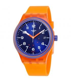 ساعت مچی عقربه ای زنانه و مردانه سواچ Swatch SUTO401