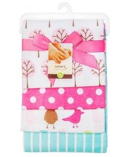 خشک کن کارترز مدل درخت و پرنده Carters Tree and Bird Drying Towel