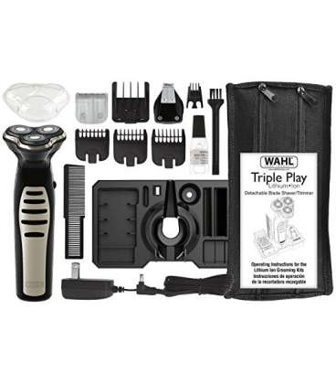 ریش تراش وال مدل Lithium Ion Triple Play + Groom Ing System
