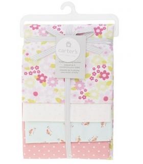 خشک کن کارترز مدل گل و نقطه Carters Flowers And Dots Drying Towel