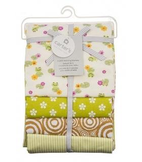 خشک کن کارترز مدل گل و قورباغه Carters Flower and Frog Drying Towel