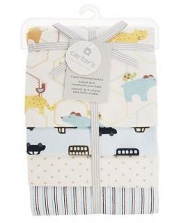 خشک کن کارترز مدل راه راه و نقطه Carters Stripes And Dots Drying Towel
