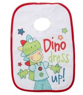 پیشبند حوله ای مدل دینو لباس بپوش Towel Apron Dino dress up