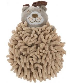 لیف حمام عروسکی مدل خرس کرم Cream Bear Bath Fiber
