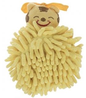 لیف حمام عروسکی مدل ببر Tiger Bath Fiber