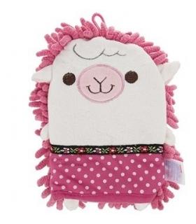 لیف حمام عروسکی مدل گوسفند Sheep Bath Fiber