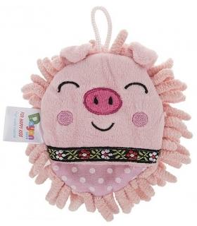 لیف حمام عروسکی مدل خوک Pig Bath Fiber