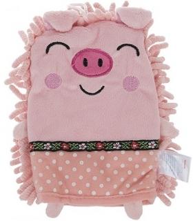 لیف حمام دستکشی مدل خوک Pig Bath Fiber