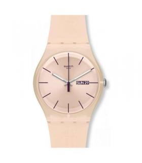 ساعت مچی عقربه ای زنانه و مردانه سواچ Swatch SUOT700