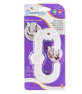 قفل کابینت دریم بیبی مدل 1008 Dream Baby F1008 Cabinet Sliding Lock