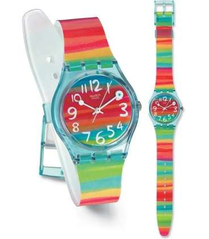 ساعت مچی عقربه ای زنانه و مردانه سواچ Swatch SUOW117