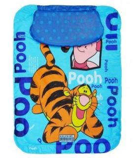 تشک تعویض بالش دار دلفین طرح آبی پوه Dolphin blue Pooh Changing Mattress with Pillow
