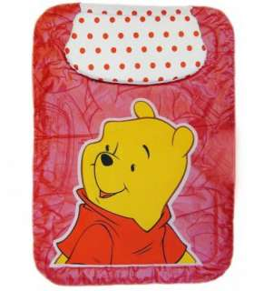 تشک تعویض بالش دار دلفین طرح قرمز پوه Dolphin Red Pooh Changing Mattress with Pillow