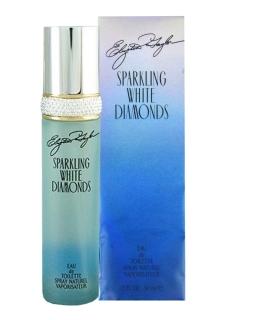 عطر زنانه الیزابت تیلور اسپارکلینگ وایت دیاموندز ادوتویلت Sparkling White Diamonds Elizabeth Taylor for women