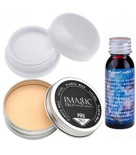 خون مصنوعی سی سی بیوتی و پودر و ژل گریم CCbeauty Stage Makeup Wax + Vampire white foundation + Fake Clot Blood