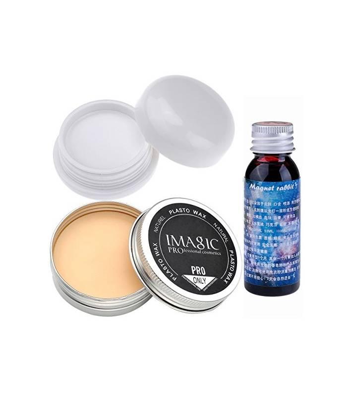 خون مصنوعی سی سی بیوتی و پودر و ژل گریم CCbeauty Stage Makeup Wax + Vampire white foundation + Fake Clot Blood |