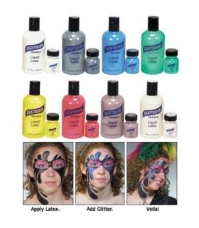 چسب لاتکس گریم گرافتوبین رنگی Liquid Latex - Colored Graftobian