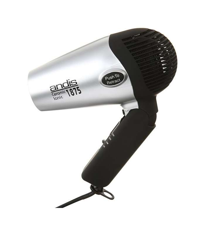 سشوار اندیس مدل Andis 1875-Watt Fold-N-Go Ionic Hair Dryer