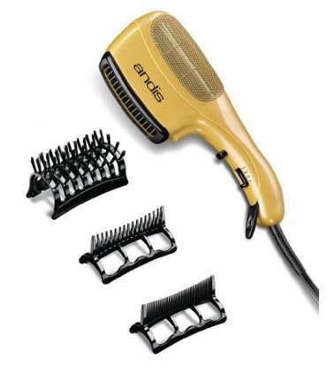 سشوار اندیس مدل سرامیک آیکون Andis Ceramic Ionic Styler Hair Dryer, Gold 82105