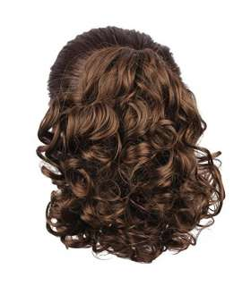 مو تکه ای مصنوعی زنانه متوسط Generic Hair Bun Medium Long Curly Synthetic Hairpiece