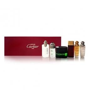 ست عطر مردانه زنانه کارتیر Cartier Collection 6 Piece Gift Set for Men